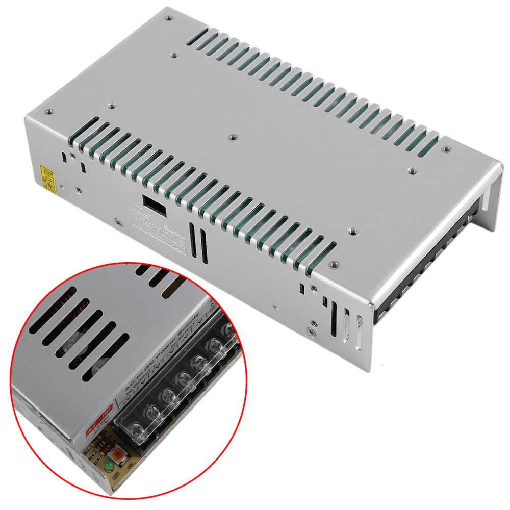 Switch LED Power Supply Transformer AC100/220V 50/60Hz To DC 24V 15A 360W Power Supply Driver For Led Strip Light power supply 24v 800w dc power adapter ac110 220v non waterproof led driver 33a ups for strip lamps wholesale 1pcs