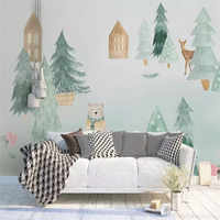 HD moderne style scandinave élégant fond bleu professionnel production murale photo papier peint peut être personnalisé