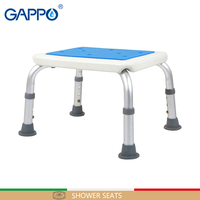 GAPPO Wall Mounted Shower Seats Toilet Trainer bathroom height adjustable bathroom seat toilet bath seat