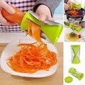 Home Decor Кухня Инструмент Овощной Фрукты Спираль Slicer Терки Морковь Spiralizer Жульен Резак Овощечистка