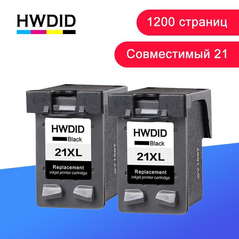 HWDID recarga 21 22XL cartucho de tinta hp/hp 21 hp/hp 22 hp 21 22 para Deskjet serie 3915 3920 F4100 F2100 F2280 F4180
