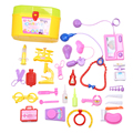30Pcs/Set  Kids Doctor Toys Set Dr. Baby Kit Pretend Play Medical Tool Box Simulation Physician Cosplay for Children