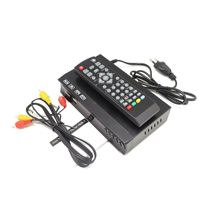 ISDB-T тюнер ТВ приемник HDMI HD 1080P видео цифровой набор декодеров верхняя коробка FTA H.264 MPEG-4 PVR для Бразилии, Перу, Чили, Филиппин