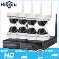 Hiseeu 8CH 960P HD Wireless  IP Camera CCTV System Wireless NVR IR-CUT Bullet CCTV Camera Home Security System Surveillance Kit
