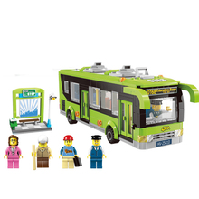 418pcs Technic Series Building Blocks Compatible With Legoingly Friends Bus Station Green Bricks Birthday Gifts For Children friends serie the heartlake summer pool building blocks bricks toy for girls compatible with legoingly 41313 for children gifts