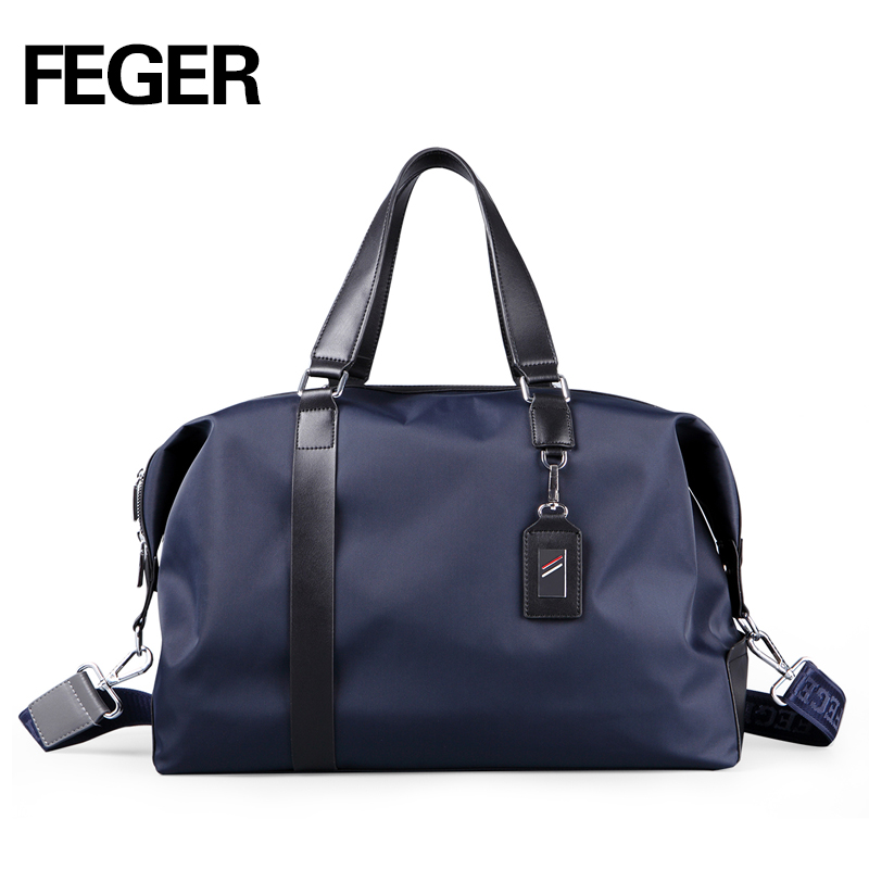 FEGER fashion extra large weekend duffel bag large oxford business men's travel bag popular design duffle nylon big