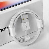 1 m 2 m 3 Originais 3m USB Data Sync Charger Cable para iPhone 5 5S SE 6 6 S 7 8 Plus X XS Max XR Rápido o Carregamento Do Telefone Móvel Cabos USB|Cabos flexíveis de celular| |  -