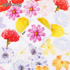 45PCS/set Kawaii Flowers Adhesive Stickers DIY Decorative Diary Stationery Sticker Office School Label Sticky Gift