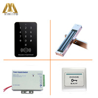 F007 B 13.56MHz IC Card Access Control F007 B Kit Without Software Single Door Access Control With Electromagnetic Lock