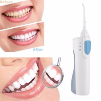 2018 New Portable Rechargeable Oral Health Electric Dental Water Irrigator Flosser Cleaner Tooth Water Spa Dental