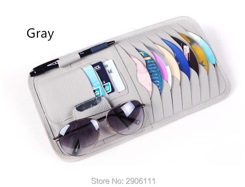 Disc Storage CD DVD eneral Car Sun Visor/card holder for Honda fit accord crv civic jazz city hrv accessories Car-styling