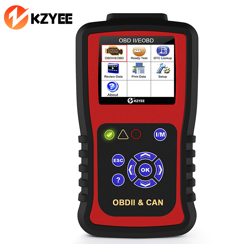 OBD2 Automotive Scanner Car Diagnostic Tool OBDII Coder Reader Scanner in Spanish Auto Code Reader Universal Scan Tool KC301 2016 new arrival vs 890 obd2 car scanner scantool obdii code reader tester diagnostic tools 3 inch lcd car detector
