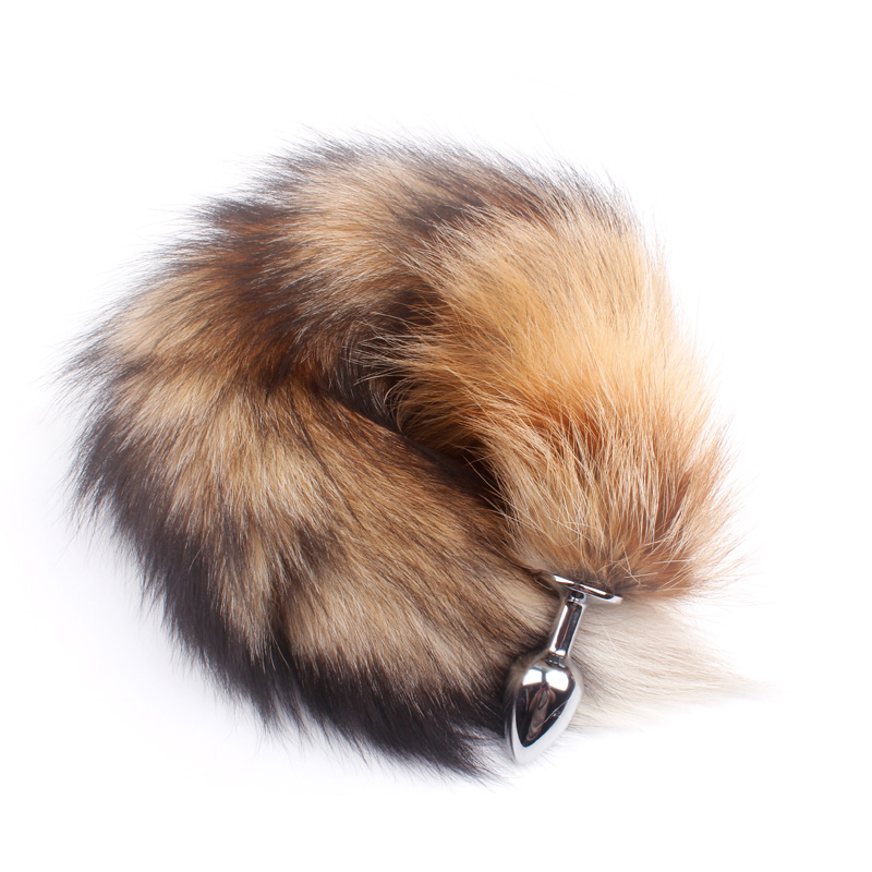 And Great Variety Of Designs And Colors Full Range Of Specifications And Sizes The Best Fanala Drop Shipping 19.88 Real Fox Tail Anal Plug Metal Butt Plug Tail Couple Sex Game Erotic Animal Sex Toy Role Play Famous For High Quality Raw Materials