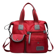 Универсальные Для женщин Водонепроницаемый сумки нейлон тотализатор моды Crossbody сумки для Для женщин топ-ручка плеча Кошелек Дорожная сумка