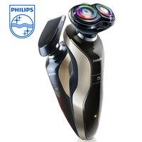 Philips Профессиональный электробритва для мужчин водонепроницаемый 2 плавающие головки с со съемным триммером, полный bady моющиеся электричес