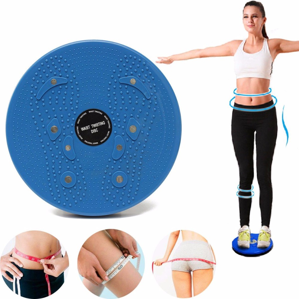 Body Twister Disc Balance Board Waist Wriggling Plate Torsion Disc Board Aerobic Exercsie Reflexology Magnets twister family board game that ties you up in knots