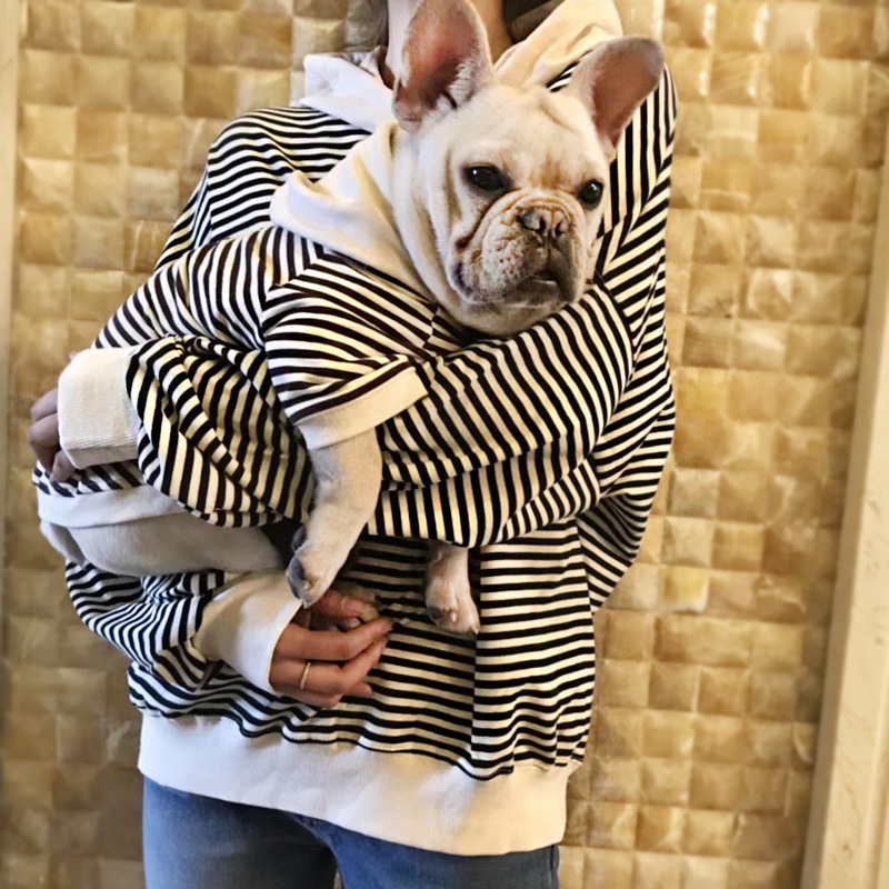 2018 Spring New Clothes Puppy Dog Trend Pet Leisure Sweater French Bulldog Puppy Clothes Dog Hoodie Yorkshire Terrier Hoopet