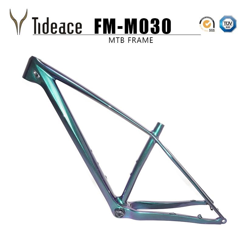 Atualizado Tideace 2019 Chinês quadro mtb 29er 142 milímetros/148 milímetros impulso 29 mountain bike quadro da bicicleta quadro de carbono max 2.35 pneus
