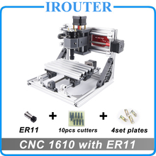 CNC 1610 с ER11, мини diy cnc лазерный гравировальный станок, Pcb фрезерный станок, резьба по дереву маршрутизатор, cnc1610, лучшие передовые игрушки