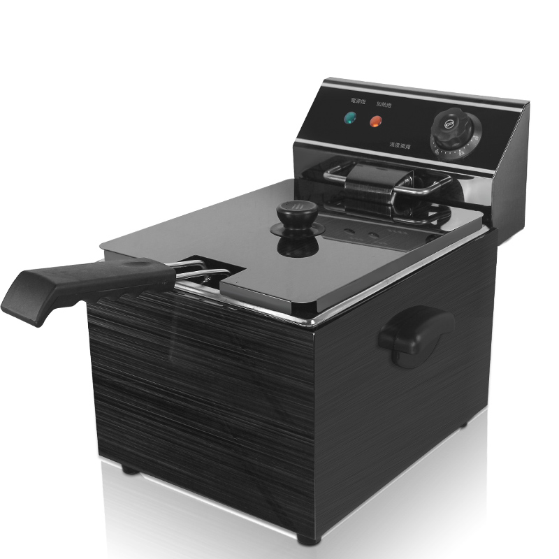 Electric Deep Fryers Fryer frying pan - Fried chicken. salter air fryer home high capacity multifunction no smoke chicken wings fries machine intelligent electric fryer