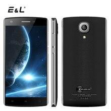 E & L j7 Smartphone de 5.0 Pulgadas de Doble Cámaras 8 GB ROM 1 GB RAM Android 6.0 Quad Core Dual Sim 3100 mAh 3G WCDMA Desbloqueado Celular teléfonos