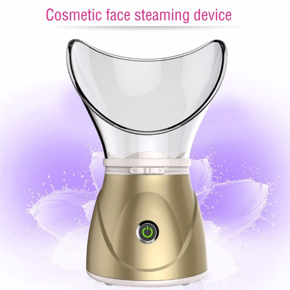 370W Face Steamer Facial Humidifier Moisturizing Mist Steam Sprayer Thermal Sprayer Skin Care Deep Cleanser Beauty Instrument portable mini usb handy mist sprayer facial body nebulizer steamer face skin care moisturizing spray beauty instrument