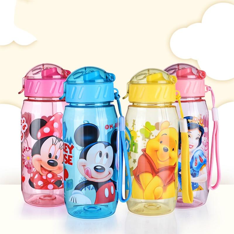 400 ML School Water <font><b>Bottles</b></font> For Kids Cartoon <font><b>Straw</b></font> <font><b>Cup</b></font> Water <font><b>Bottle</b></font> Cute Kettle Shaker Sport <font><b>Drink</b></font> <font><b>Bottle</b></font> bouteille gourde