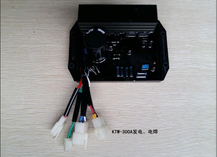 KTW-300A 10KW-300A power generation, welding dual-use AVR regulator, voltage regulator g5 8 14h f oxygen regulator welding accessories