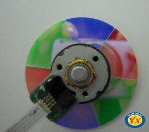 Image 3 - Оригинальное цветное колесо проектора, подходит для проекторов головного света/HD25e/HD131, цветное колесо проектора высокого качества