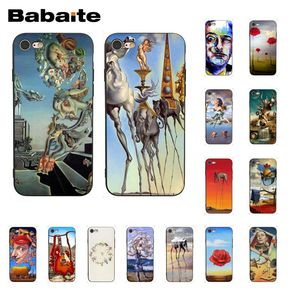Babaite Salvador Dali Art Phone Case for iphone 11 Pro 11Pro Max 8 7 6 6S Plus X XS MAX 5 5S SE XR(China)
