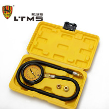 Protector Pump Gauge Tester Kit Car Trucks Vehicles Adapters Gauge Engine Oil Set  Rubberized Pressure Tools Set Diagnostic