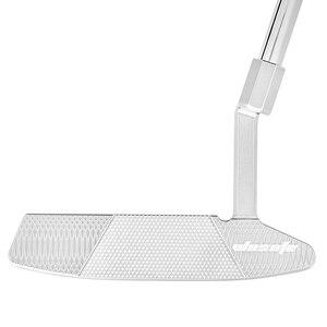 Image 4 - Golf putter clubs hommes droit argent CNC fraisé avec Golf couvre chef livraison gratuite