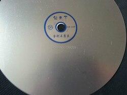 Шлифовальный диск зернистость 3000 с алмазным покрытием, 8 дюймов, плоский круг, шлифовальный диск