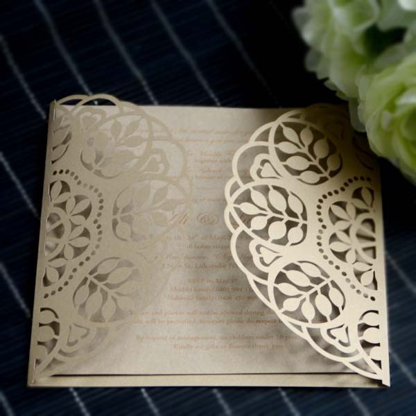 Us 56 0 Paper Craft Products Royal Decorate Wedding Invitation Card In Cards Invitations From Home Garden On Aliexpress Com Alibaba Group