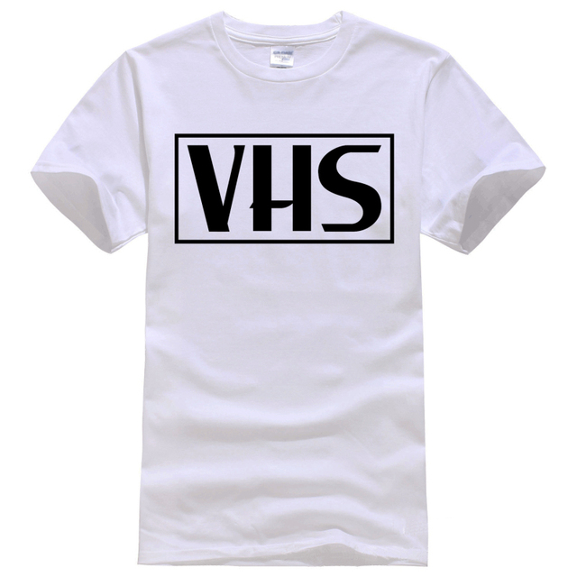 Retro VHS vcr, video cassette, tape, vintage, recorder, 80s Tee ...