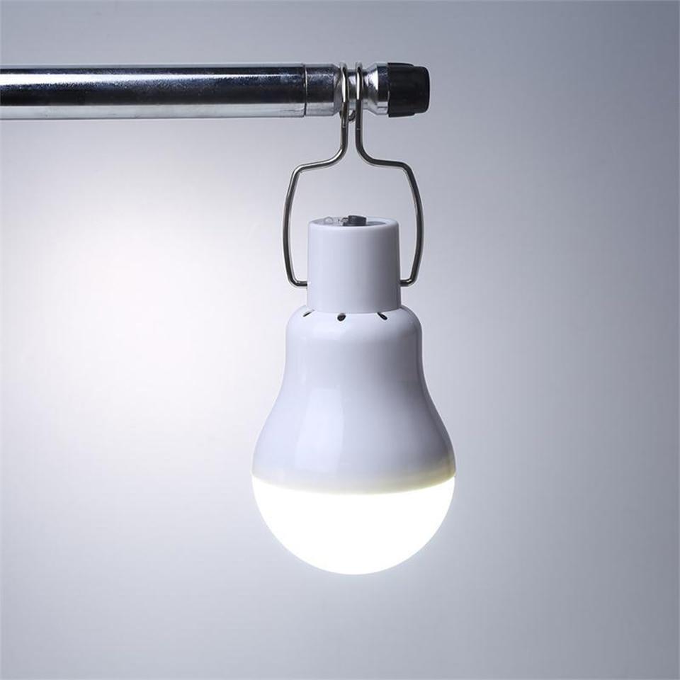 Kein flimmern Solar-led-lampe 130LM 15 Watt Tragbare Camping panel Led-beleuchtung suspension leuchte lichter Für hof camp tent