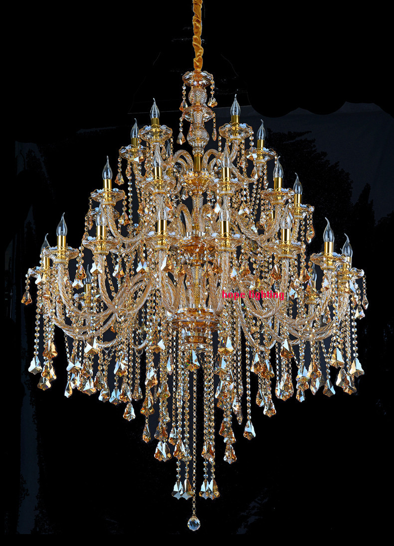 Modern candle crystal chandeliers blown glass chandelier hotel light modern candle crystal chandeliers blown glass chandelier hotel light murano glass chandelier large crystal chandelier for foyer in chandeliers from lights aloadofball Image collections