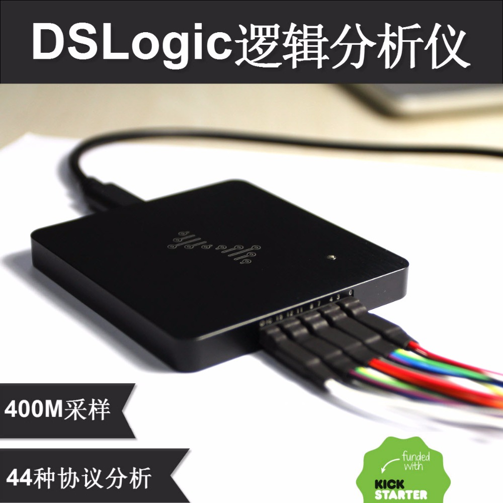 Free Shipping DSLogic Plus logic analyzer 5 times saleae16 bandwidth up to 400M sampling 16 channel debugging assistan new stockFree Shipping DSLogic Plus logic analyzer 5 times saleae16 bandwidth up to 400M sampling 16 channel debugging assistan new stock