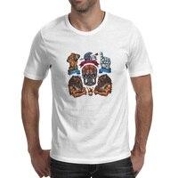 Blessing Sports Spirits T Shirt Baseball Beast Skull Tattoo Hip Hop Novelty Cool T Shirt Rock