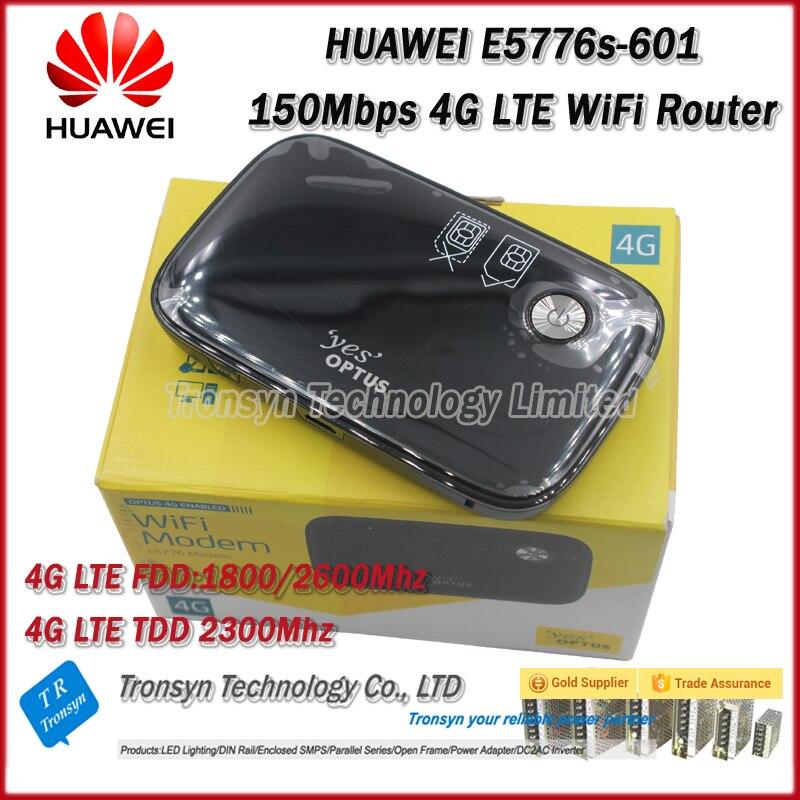 Livraison gratuite déverrouillage d'origine LTE FDD TDD 150 Mbps HUAWEI sans fil 4G routeur et HUAWEI E5776 4G routeur, 4G laisser Hotspot Mobile