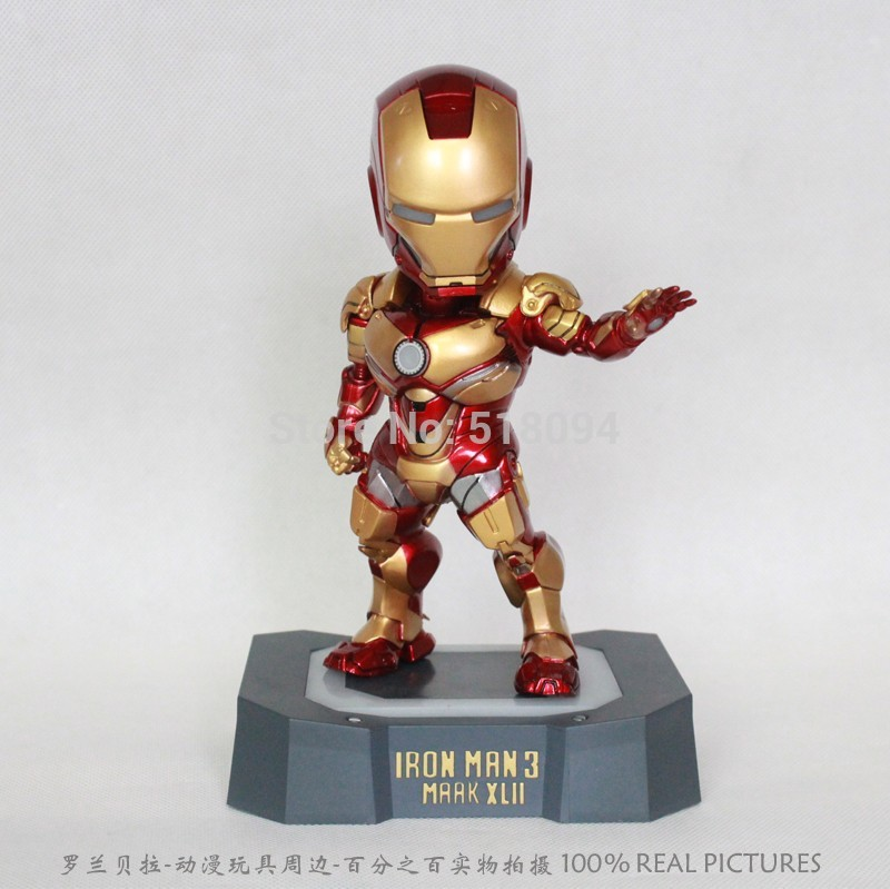 ФОТО Free Shipping Marvel Egg Attack Iron Man Mark 42 Action Figure Collectible Toy HRFG127