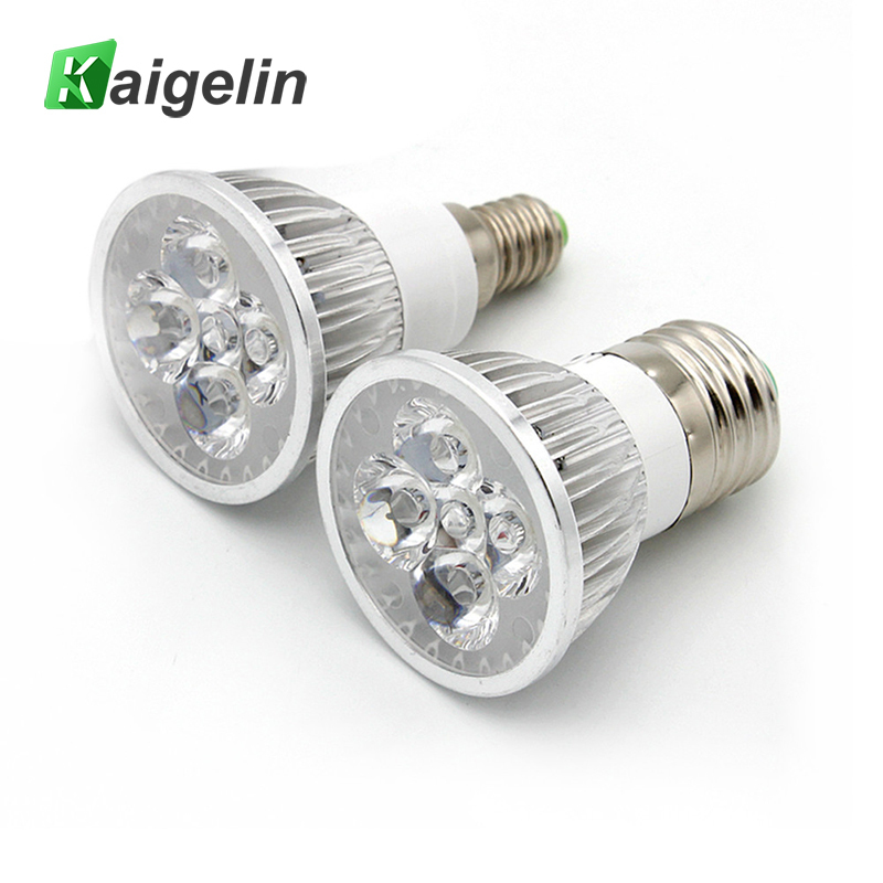 Kaigelin 15W Phyto Lamp 85-265V LED Grow Light Full Spectrum Growing Lamps E14/ E27 LED Bulbs Phyto Lamps For Plants Seedlings