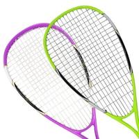 Women Men Professional Squash Racket Aluminum With Carbon Fiber Material For Squash Sport Training Beginner With Carry Bag