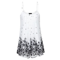 Womens Sleeveless Floral Print Summer Tunic Top Long Women Camisole 2017 Summer Style Fashon Tank Tops