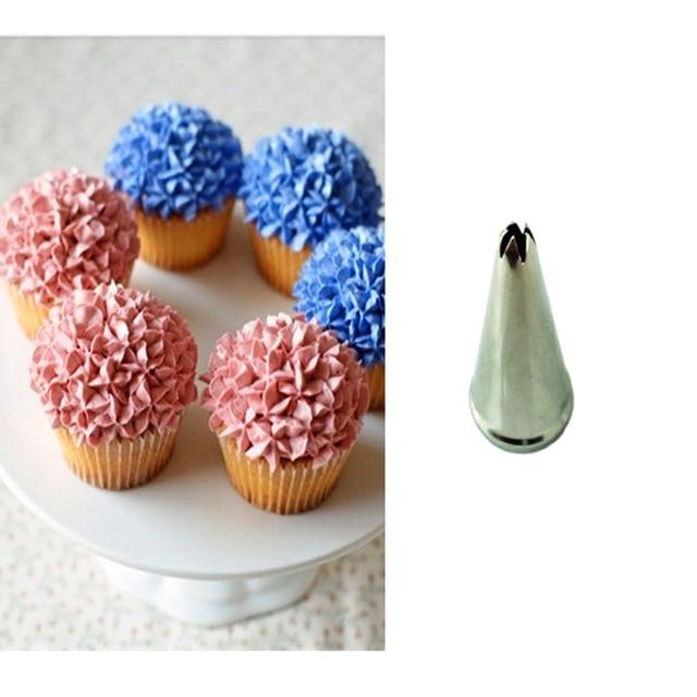 CP25 Cupcake Decorating Tools Cream Nozzles Pastry Tips Sugarcraft ...