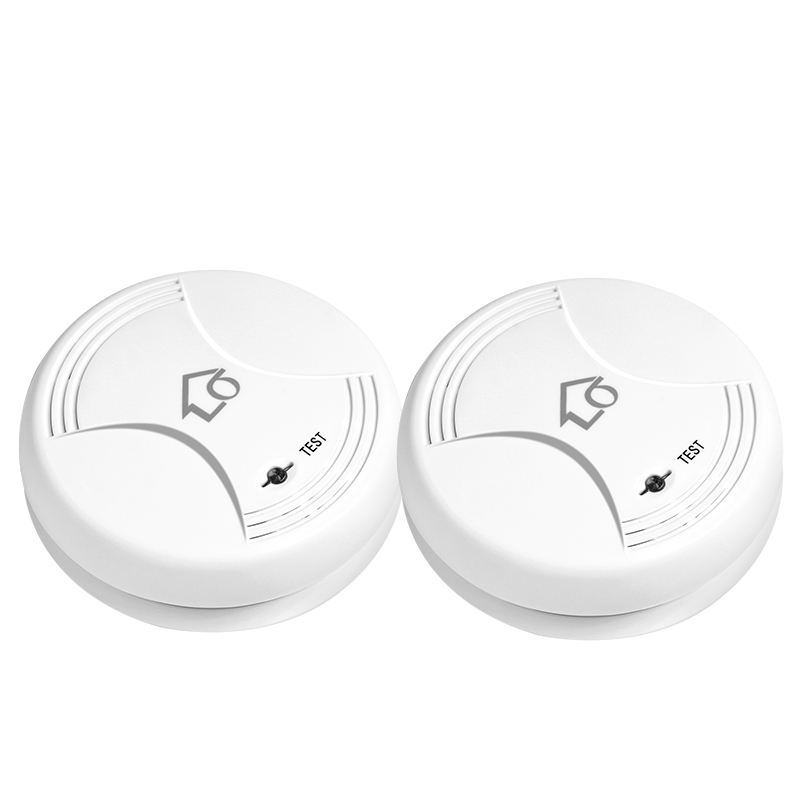 433MHz Portable Alarm Sensors Wireless Fire Smoke Detector for all of alarm system smoke sensor daytech wireless smoke detector sensor portable fire alarm sensor battery operation for our home security alarm system 433mhz