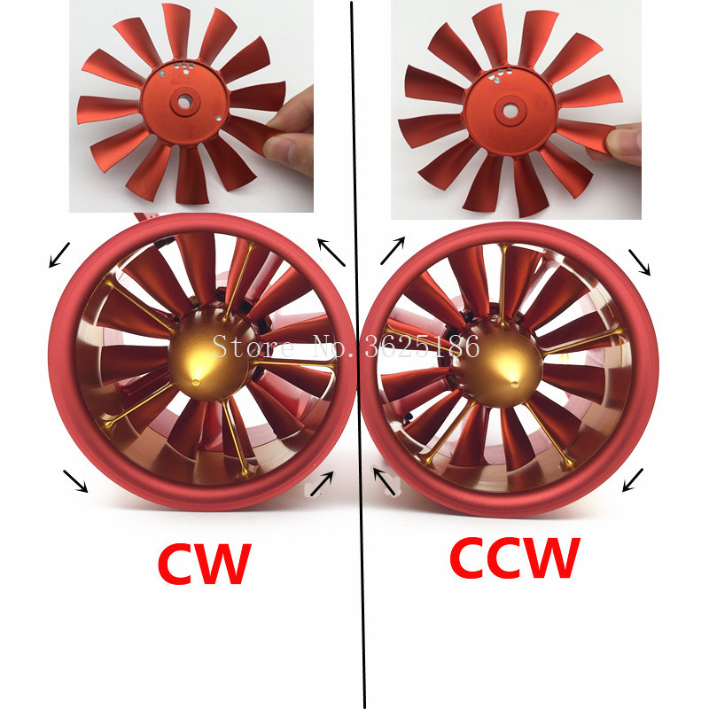 1 zestaw efr w całości z metalu wentylator kanałowy JP 90mm z trzy możliwości silnik 4250 KV1750 6S KV1330 8S 10S KV1050 12S silnika do silników odrzutowych RC w Części i akcesoria od Zabawki i hobby na  Grupa 2