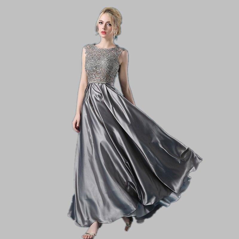 Robe De Soiree 2019 spets ärmlös av axelklänningen - Särskilda tillfällen klänningar - Foto 3