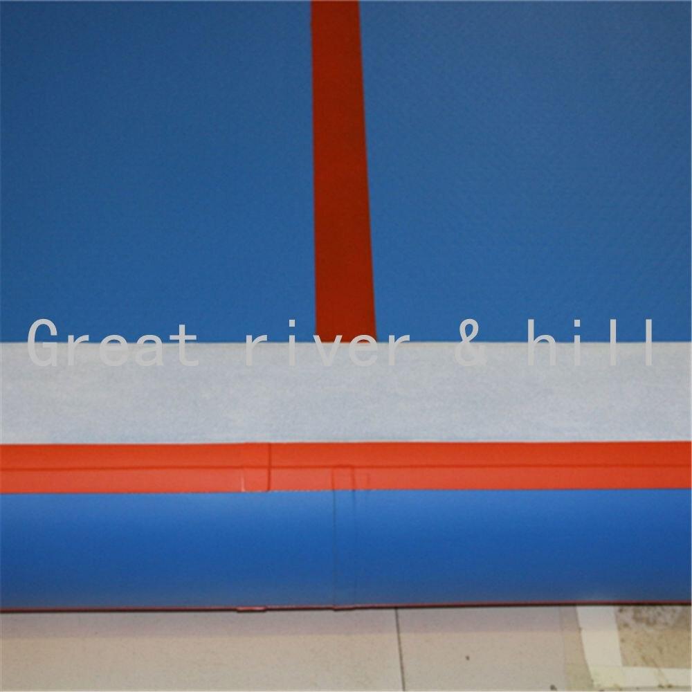 6 м надувные воздуха сушильные трек/надувные тренажерный зал сушилка трек