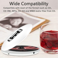 New CD player USB rechargeable long standby 10 hour media player Battery support CD, CD R, CD RW and MP3 Disc mp3 player